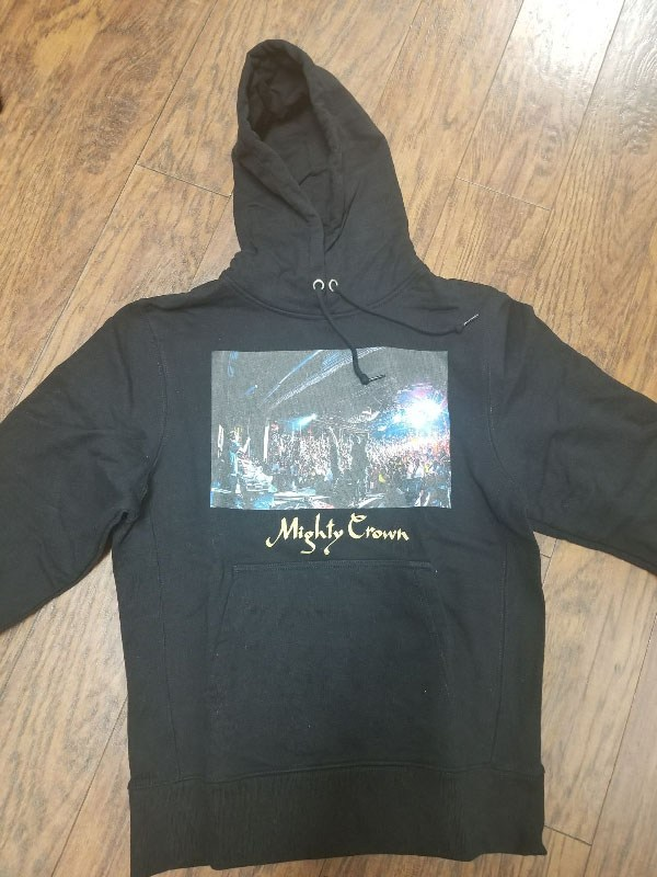 Mighty Crown Black Hoodie