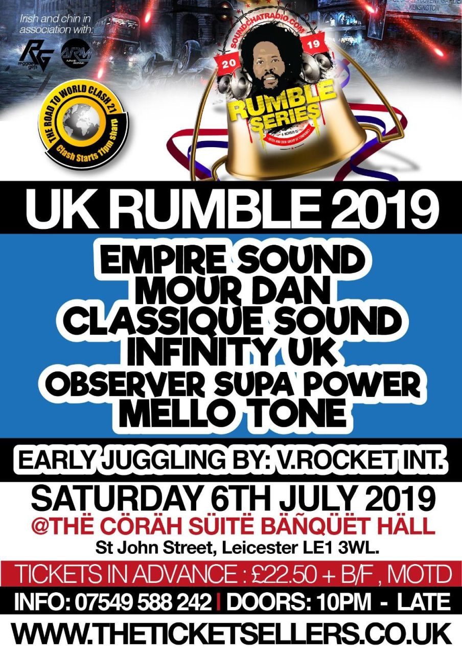 UK Rumble 2019 by Irish and Chin
